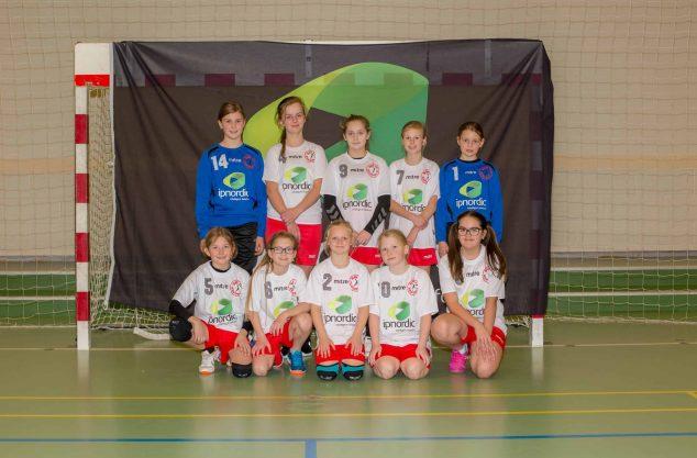 Bov IF U10A piger 2017-2018 - Holdbillede
