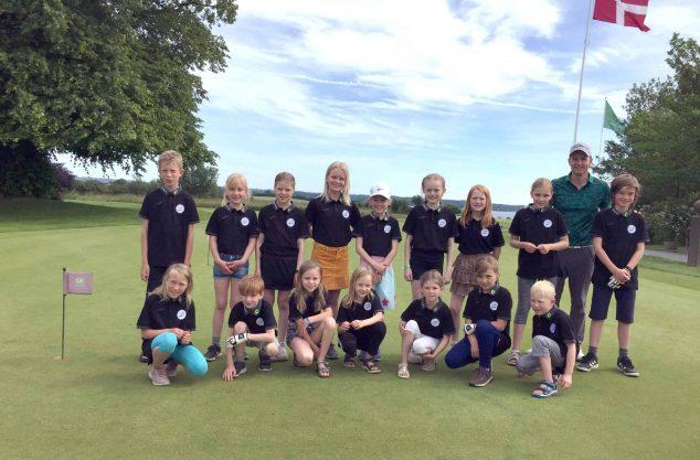 Holdfoto_Juniorhold, Benniksgaard Golf