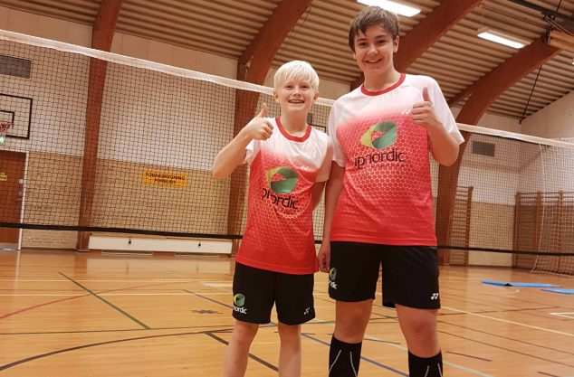 Magnus & Jens fra Dybbøl Badmintonklub