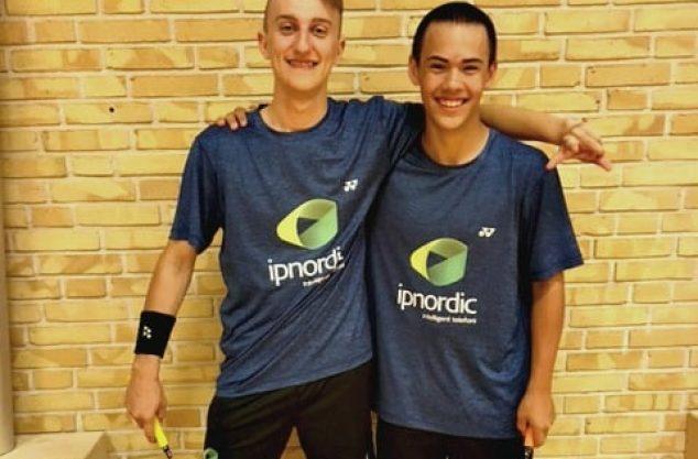 Niklas & Andreas fra Dybbøl Badmintonklub
